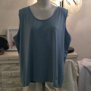 Womens Silky Feel Tank Top Size 22w/24W